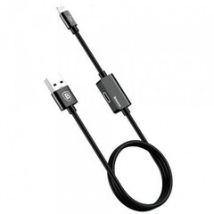 USB кабель Baseus Music series Audio Cable for iP Black