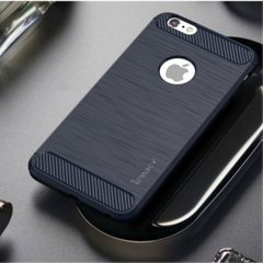 Накладка iPaky Carbon for iPhone 6/6S Plus Blue