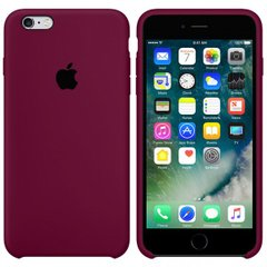 Silicone case for iPhone 6S (52) marsala