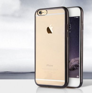 Силикон Shining for iPhone 6 Black