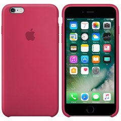 Silicone case for iPhone 6S (39) rose