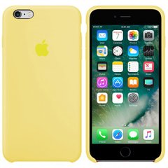 Silicone case for iPhone 6S (51) mellow yellow
