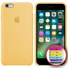 Silicone Case Full for iPhone 6S ( 4) yellow