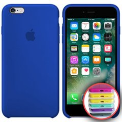 Silicone Case Full for iPhone 6SPlus (40) ultra blue