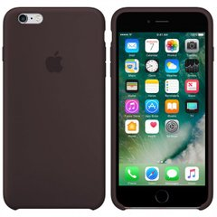 Silicone case for iPhone 6S (34) cocoa
