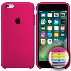 Silicone Case Full for iPhone 6S (47) hot pink