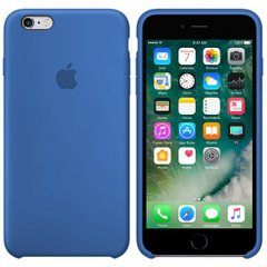 Silicone case for iPhone 6S (16) royal blue