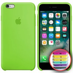 Silicone Case Full for iPhone 6SPlus (31) lime green