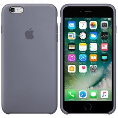 Silicone case for iPhone 6S (46) lavander gray