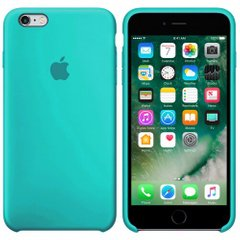Silicone case for iPhone 6S (21) azure
