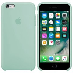 Silicone case for iPhone 6S (17) mint