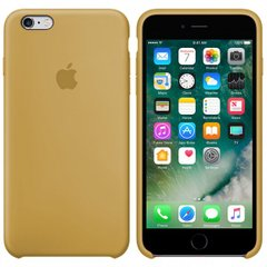 Silicone case for iPhone 6S (28) gold