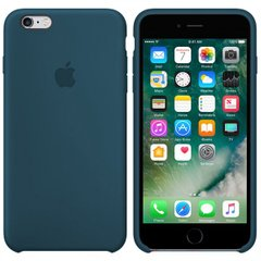 Silicone case for iPhone 6S (35) mist blue