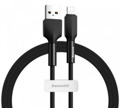 USB кабель Baseus Silica gel cable USB For IP 1m Black
