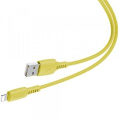 USB кабель Baseus Colourful Cable USB For iP 2.4A 1.2m Yellow