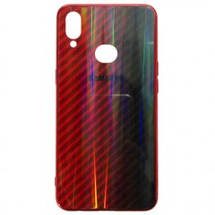 Накладка Carbon Gradient Hologram Samsung A10s (A107) Red